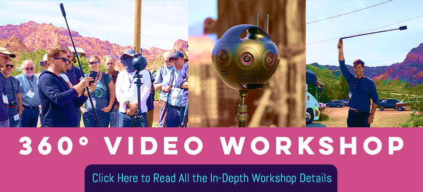 360 Field Workshop - Click here to reall all the in-depth workshop details